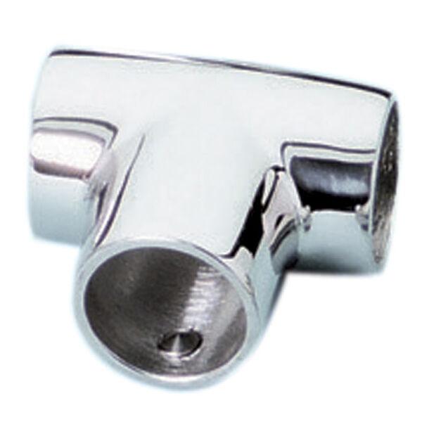 Whitecap Universal 90° Tee Rail Fitting, Zamac