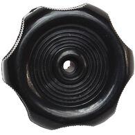 "Black Window Knob - 1/2"" Shaft"
