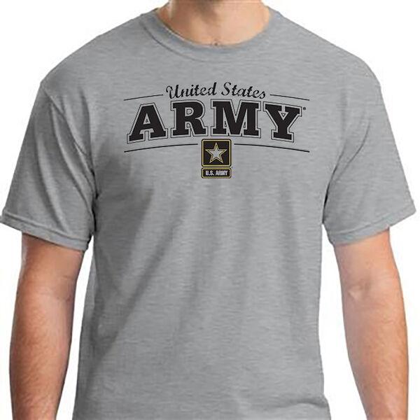 United States Army Men's Short-Sleeve Logo Tee