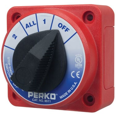 Perko Compact Battery Selector Switch