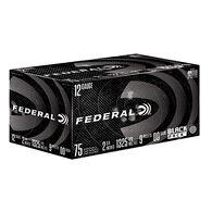 Federal Black Pack #00 Buckshot, 12 Ga.
