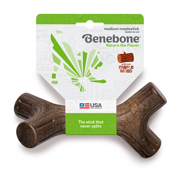Benebone Maplestick Chew Toy, Medium