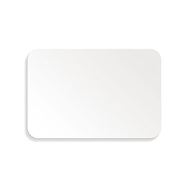 """Metalcraft White Aluminum Sign, 12"""" x 18"""""""