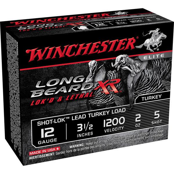 "Winchester Long Beard XR Turkey Loads, 12-ga., 3-1/2"", 2-oz., #5"