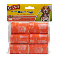 Glad for Pets Waste Bags, Tropical Breeze, 90 Bags