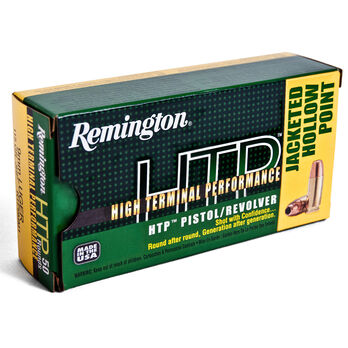 Remington HTP Jacket Hollow Point Handgun Ammo, .357 Mag, 158-gr., JHP