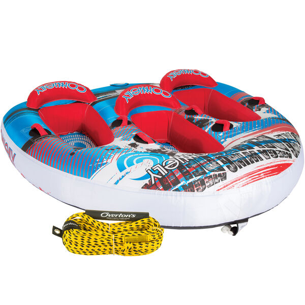 Connelly Mega Wing Deluxe 3-Person Towable Tube Package With Rope