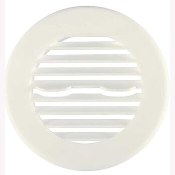 Camco Round Air Conditioning Ceiling Vent, Beige