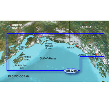 Garmin BlueChart g2 Vision - Anchorage to Juneau