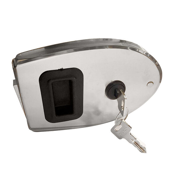 Southco Sliding Action Latch Weatherproof Lock Oval Stainless Steel