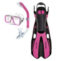 Head Tarpon Mask/Snorkel/Fin Set - Pink - S/M