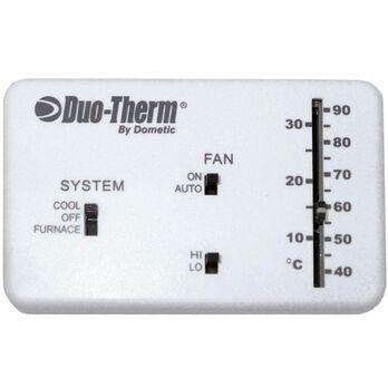 Analog Thermostat, Cool/Furnace/Fan
