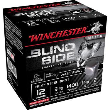"Winchester Blind Side Magnum Ammo, 12-ga., 3-1/2"", 1-5/8 oz., #2"