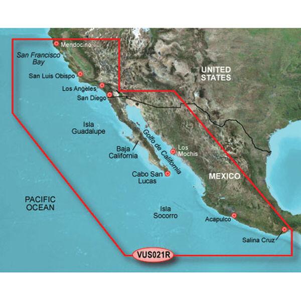 Garmin BlueChart g2 Vision - California to Mexico