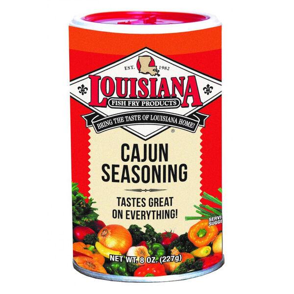 Louisiana Fish Fry Cajun Seasoning, 8-Oz.