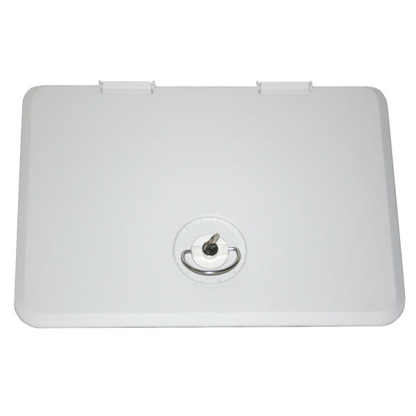 "Sure-Seal 11"" x 15"" Access Hatch, Locking, Sandshell"