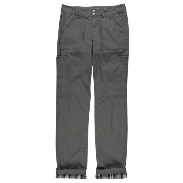Ultimate Terrain Women's Flannel-Lined Canvas Pant