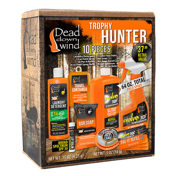 Dead Down Wind Trophy Hunter 10-Piece Scent Elimination Kit