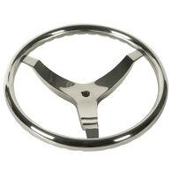 "Schmitt Vision FX 15-1/2"" Stainless Steel Steering Wheel"