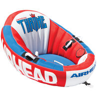 Airhead Throne 1-Person Towable Tube