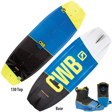 CWB Pure Wakeboard With Venza Bindings