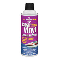 Clear Vinyl Cleaner And Polish 14 oz.