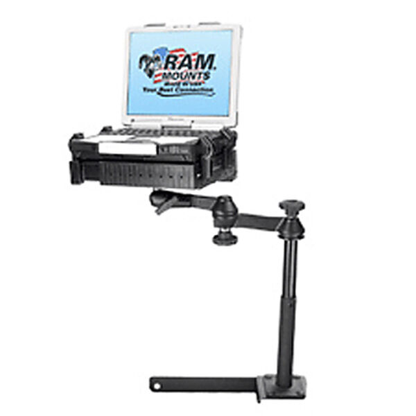 RAM Mount Vehicle System With Tough Tray For Dodge Ram 1500-5500