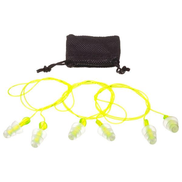 Peltor Sport Tri-Flange Reusable Earplugs, 3-Pack