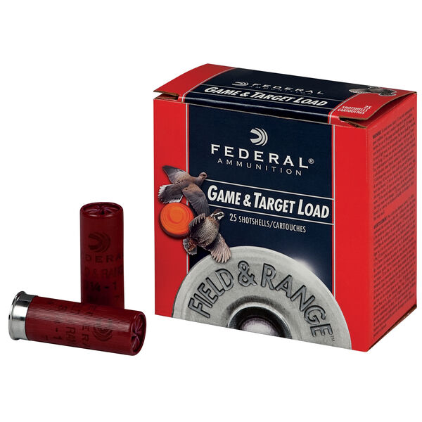 "Federal Premium Game & Target Loads, 12-ga., 2-3/4"", 1-1/4 oz., #4"
