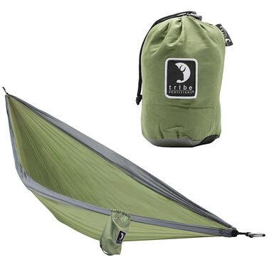 Tribe Provisions Adventure Hammock Kit, Green/Black