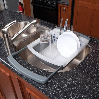 Prepworks Collapsible Over-the-Sink Dish Drainer