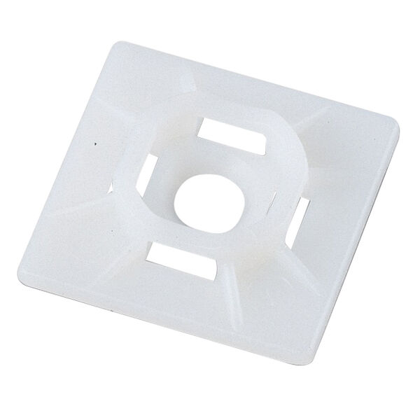 Ancor Cable Tie Mounts, #8 Screw, Natural, 25-Pc.