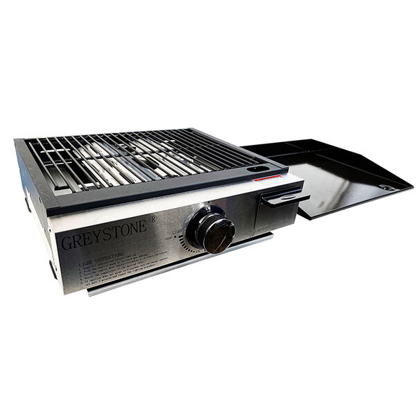 """Greystone 17"""" Tabletop Outdoor Gas Grill / Griddle Combo"""