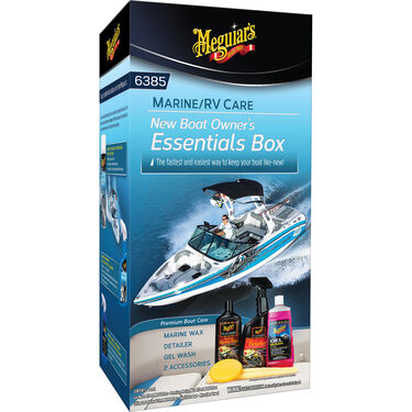Meguiar's New Boat Owner's Essentials Box