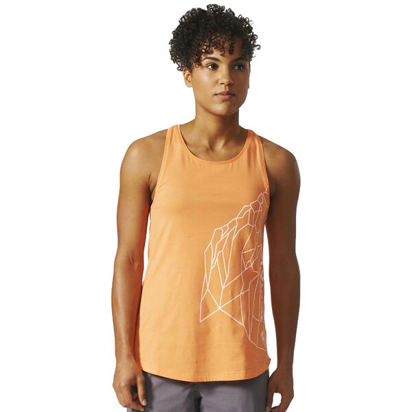 Adidas Women's Rock Graphic Tank Top