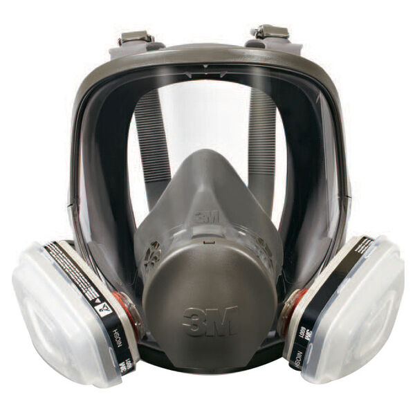 3M Medium Full Face Paint Project Respirator