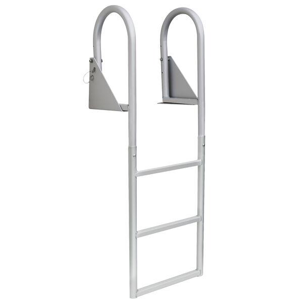 Dockmate Standard 3-Step Flip-Up Dock Ladder