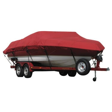 Exact Fit Covermate Sunbrella Boat Cover For REINELL/BEACHCRAFT 185 BR BOWRIDER