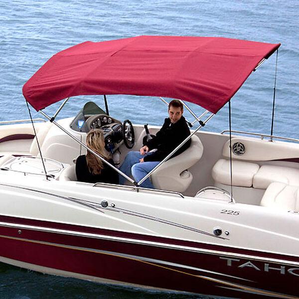 Shademate Sunbrella Stainless 4-Bow Bimini Top 8'L x 54''H 79''-84'' Wide