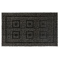 AstroTurf Panel Design Patio Mat, 18'' x 30'', Black/Gray