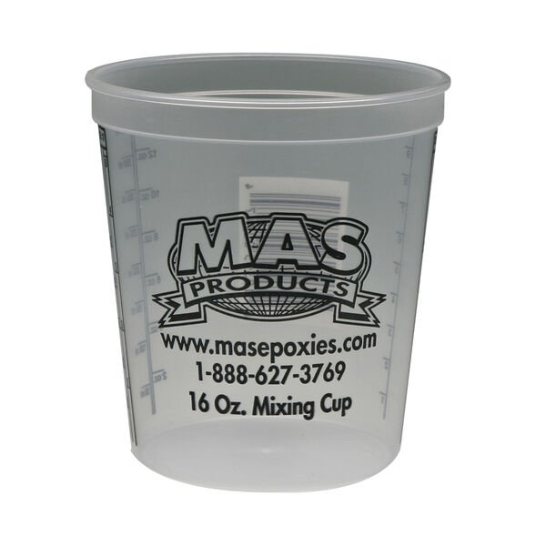 MAS Epoxies 16-oz. Mixing Cups, 10-Pack