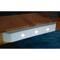 """Taylor Made Straight Dock Cushion with Solar LED Lights, 36""""L"""