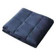 Sutton Home Fashions 12-lb. Weighted Microfiber Throw, Navy