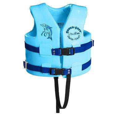 Super Soft Child Life Vest, Small, Marina Blue