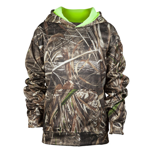 Mossy Oak Youth Camo Pullover Hoodie
