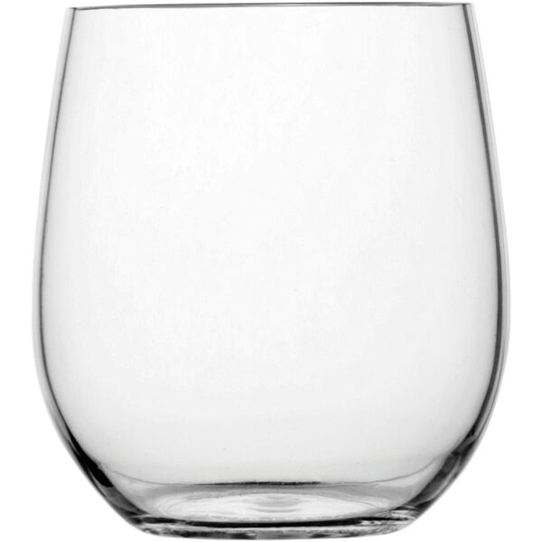 Non-Slip Clear Water Glass, Set of 6