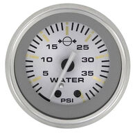 "Sierra Gold Sterling 2"" Water Pressure Gauge"