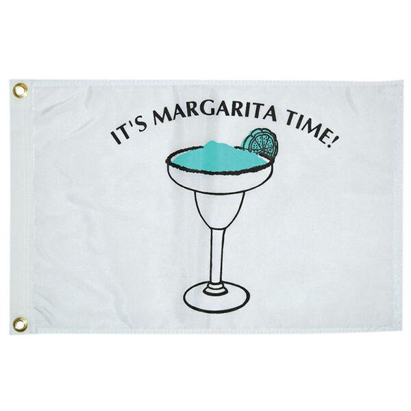 "Margarita Time Flag, 12"" x 18"""