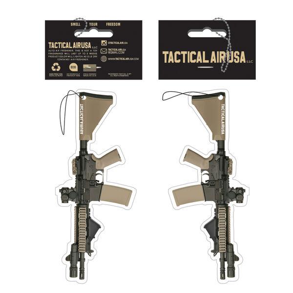 Tactical Black and Desert Tan AR15 Air Freshener