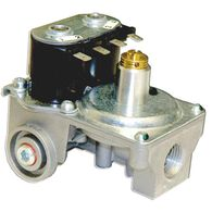 """Gas Valve, Straight, 3/8"""" NPT Inlet & 1/4"""" Loxit Outlet, DSI SW Model, Water Heater"""